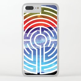 Transformative Labyrinth of Sound Clear iPhone Case