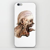 pain iPhone & iPod Skins featuring Pain by Roland Prinsler