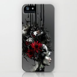 At war, looking for peace iPhone Case