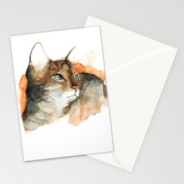 cat#10 Stationery Cards