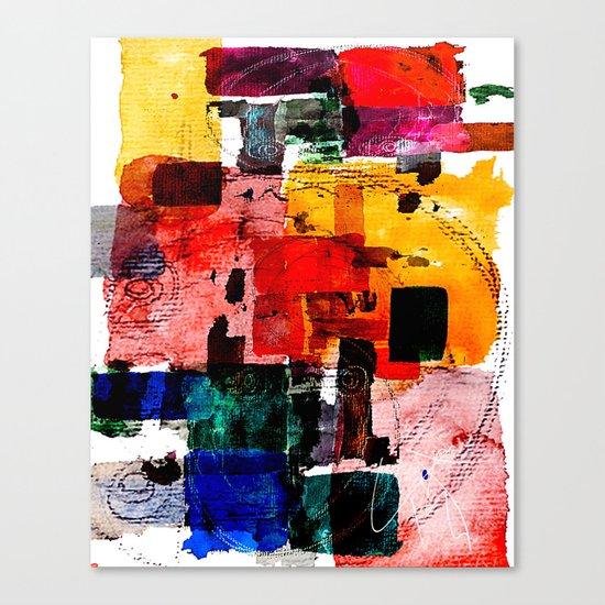 Im Kleingartenverein Canvas Print