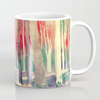 takmaj Mugs featuring Woods by takmaj