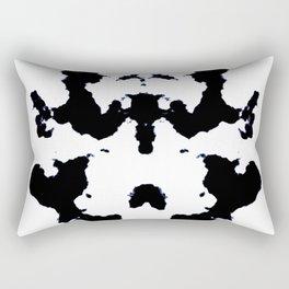 Black ink art Rectangular Pillow