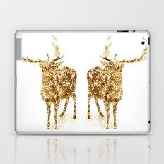 Old School Rocks! Gold Deer Version Laptop & iPad Skin