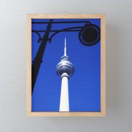 Berlin TV Tower No.3 Framed Mini Art Print
