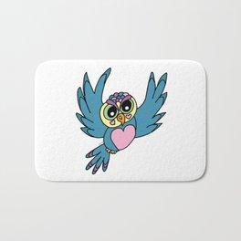 Lovely Owl Bath Mat