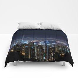 Hong Kong- Victoria Peak Comforters