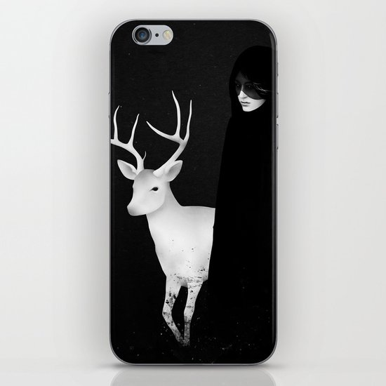 Absentia iPhone & iPod Skin