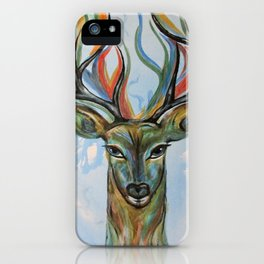 Beginnings...The Dream Stag iPhone Case