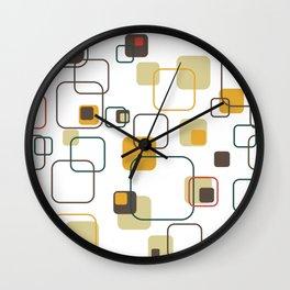 Mid-Century Modern Hep Cat (gold) Wall Clock