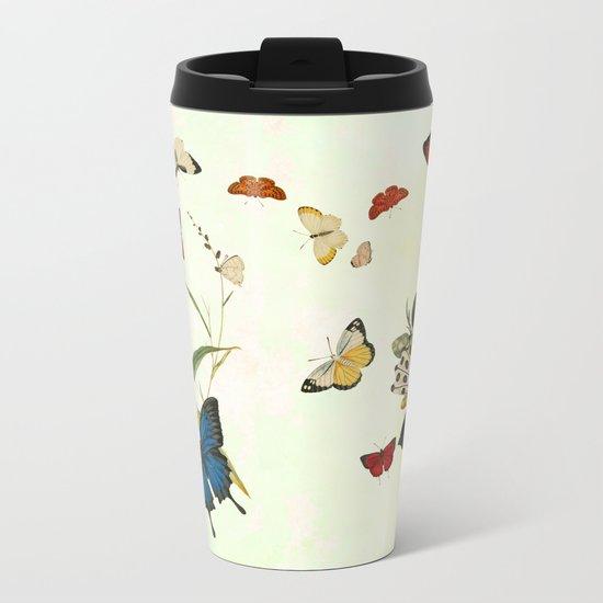 The butterfly ball Metal Travel Mug