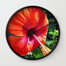 Red Beauty Wall Clock