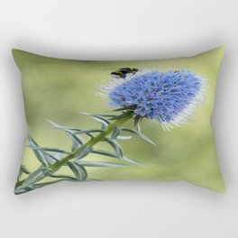 Asphodel with bee Rectangular Pillow