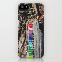 lighters on lake erie iPhone Case