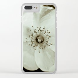 Wild Roses Clear iPhone Case