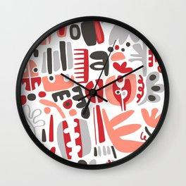 Lady Bug Wall Clock