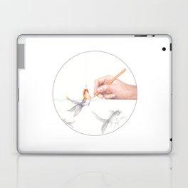 Goldfishing by Lars Furtwaengler | Colored Pencil | 2011 Laptop & iPad Skin