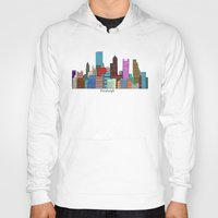 pittsburgh Hoodies featuring Pittsburgh by bri.buckley