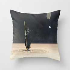 Golden Witch Doctor Throw Pillow