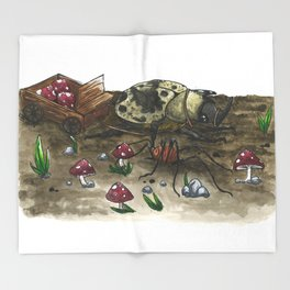 Little Worlds: The Harvest Throw Blanket