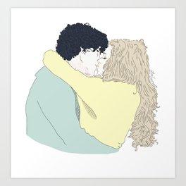 Bellarke * Art Print