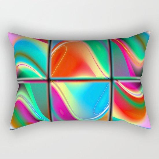 big data strategy puzzle Rectangular Pillow