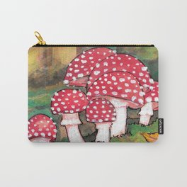 Mushrooms in the Woods Carry-All Pouch