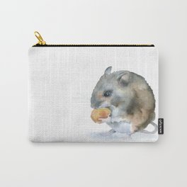 Mouse Watercolor Carry-All Pouch