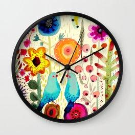 près de toi Wall Clock