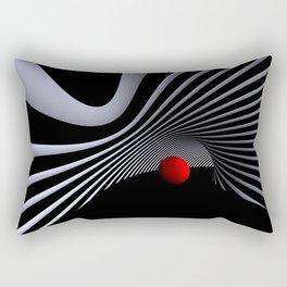 opart -59- inside the donut Rectangular Pillow