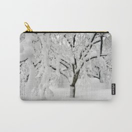 Weeping Ice Tree Carry-All Pouch