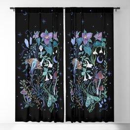 Night Garden Blackout Curtain