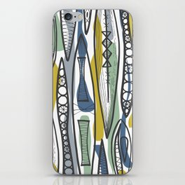 Mid-Century Shapes iPhone Skin