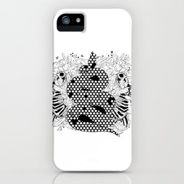 More bees with honey iPhone Case
