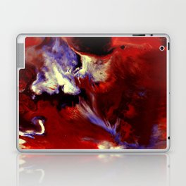 Abstract, Red, White, Violet, Black (CA17036C) Laptop & iPad Skin