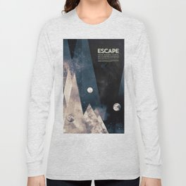 Escape, from planet earth Long Sleeve T-shirt