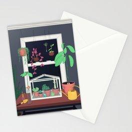 Indoor Garden Stationery Cards