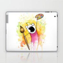 Meme Painting Laptop & iPad Skin
