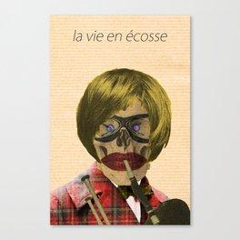 - la vie en écosse - Canvas Print