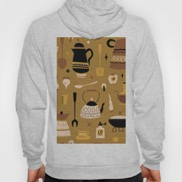 Kitschy Kitchen in Mustard Hoody