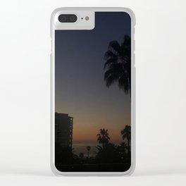 Purple Haze Clear iPhone Case