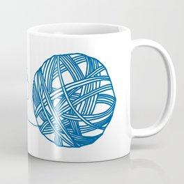 MKG Yarn - Blue Coffee Mug