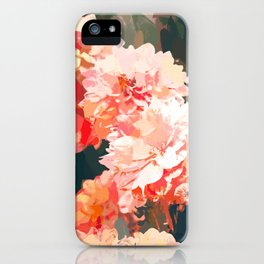 Blush #nature #digitalart iPhone Case