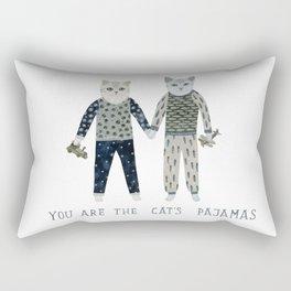 You are the Cat's Pajamas Rectangular Pillow