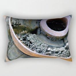 Wooden Wheel Rectangular Pillow