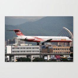 City Airports Canvas Print