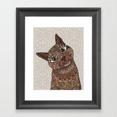 Hello Beautiful  Framed Art Print