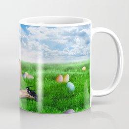 Kate Moss Easter Bunny Coffee Mug