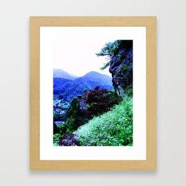 Tittering Framed Art Print