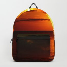 A  Beautiful Day´s End Backpack